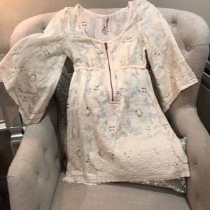 Free People swim suit cover up. Size small